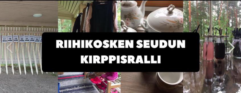 Riihikosken kirppisralli 9.-10.6.2018.